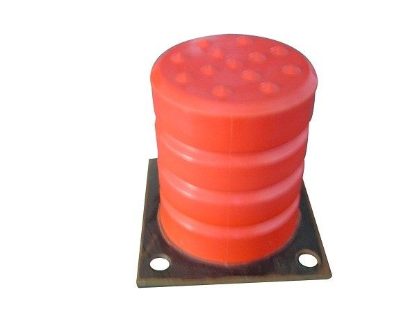 Professional Microcellular Molded Polyurethane Foam Parts For Impact Buffer