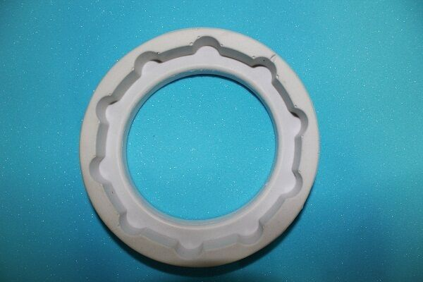 SGS Approved Custom Polyurethane Products Ring Gasket With Semi Rigid Foam