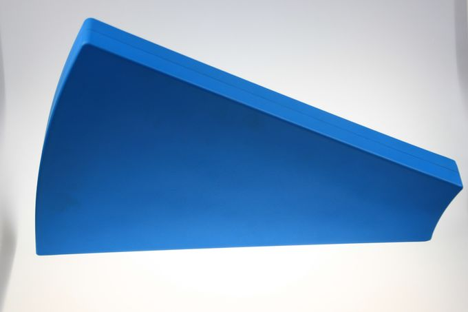 Custom Iron Coated Integral Skin Polyurethane Foam Flap Barrier Wings Gate
